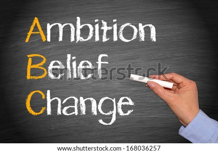 Ambition - Belief - Change