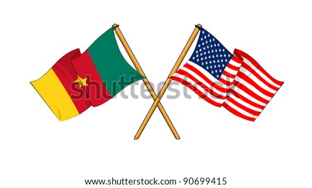 America and Cameroon alliance and friendship