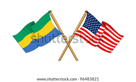 America and Gabon alliance and friendship