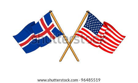 America and Iceland alliance and friendship
