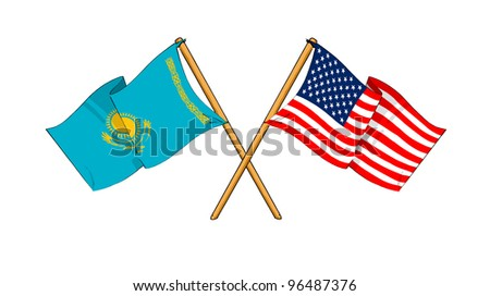 America and Kazakhstan alliance and friendship