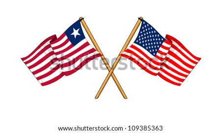 America and Liberia alliance and friendship