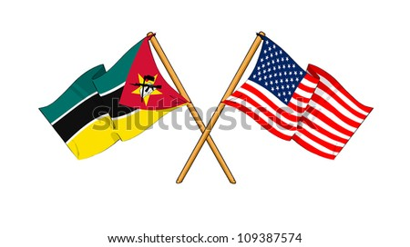 America and Mozambique alliance and friendship