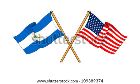 America and Nicaragua alliance and friendship