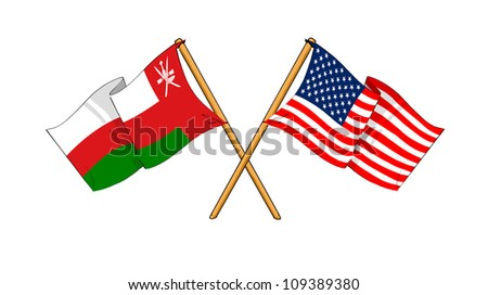 America and Oman alliance and friendship