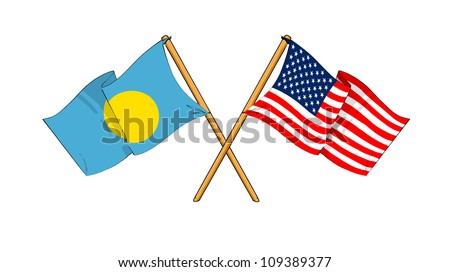 America and Palau alliance and friendship