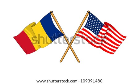 America and Romania alliance and friendship