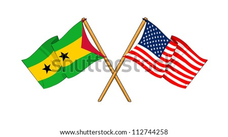 America and S�£o Tom�© and Pr�­ncipe alliance and friendship