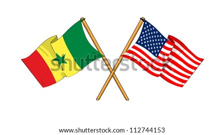 America and Senegal alliance and friendship
