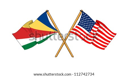 America and Seychelles alliance and friendship