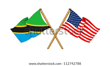 America and Tanzania alliance and friendship