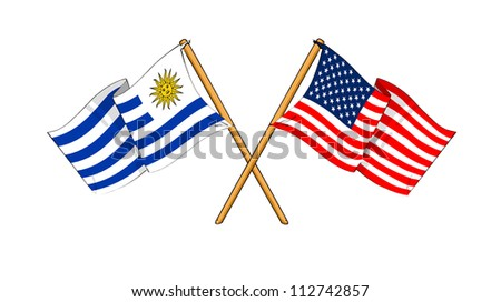 America and Uruguay alliance and friendship