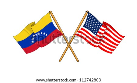 America and Venezuela alliance and friendship