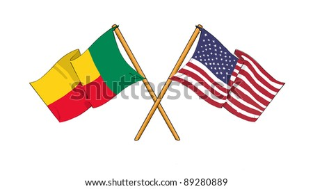American and Beninese alliance and friendship