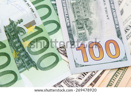 American and European money