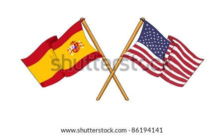 American and spanish alliance and friendship