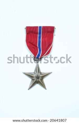 American Bronze Star - stock photo