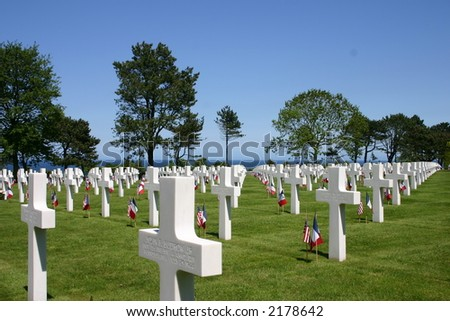 American Cemetery, Normandy France