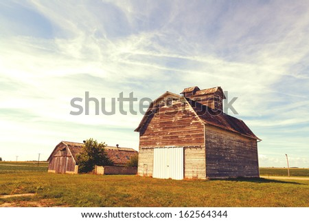 American Countryside - stock photo