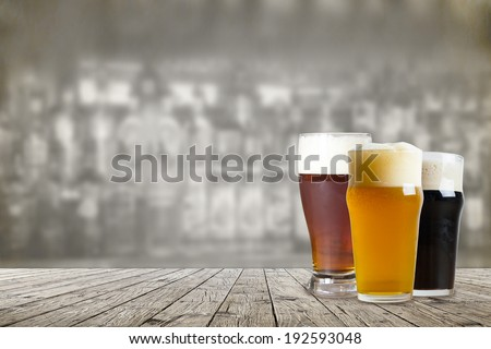 American Craft Beer - stock photo