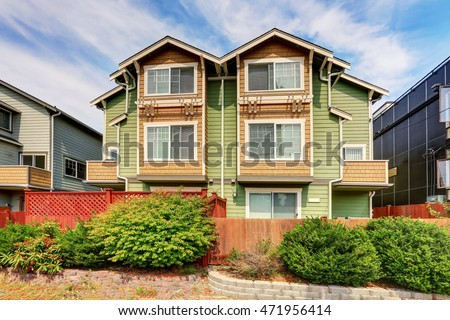 Duplex stock images royalty free images vectors for House for two families