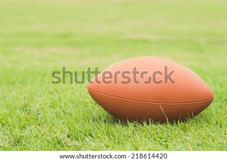 American Football  - stock photo