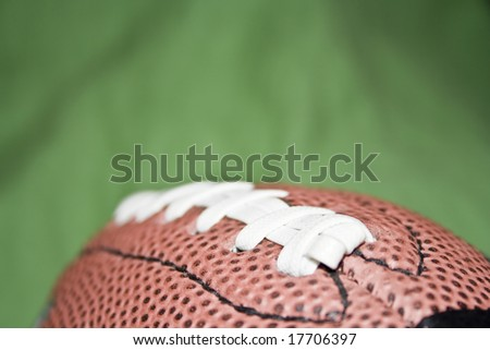 american football ball - stock photo
