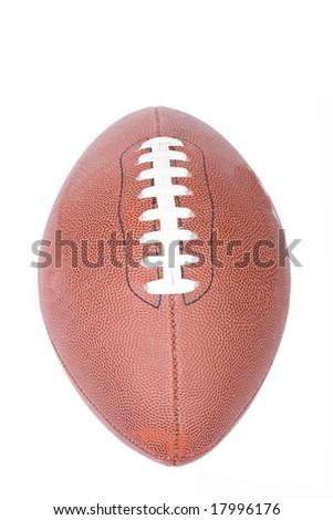 american football ball - stock photo
