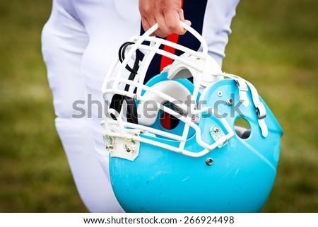 American football game - stock photo