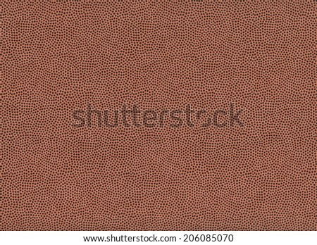 American football texture suitable for backgrounds - stock photo