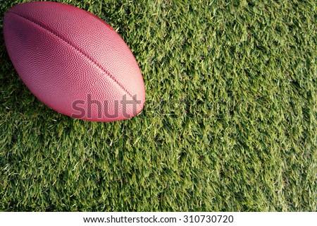 American futball ball - stock photo