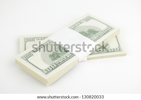 American national currency/Dollars