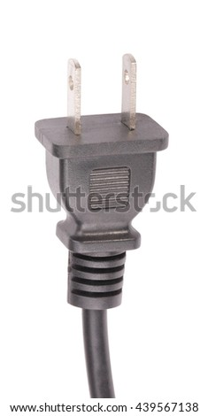 American Outlet Plug with Cord Isolated