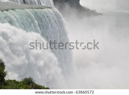 American side of the Niagara Fall - stock photo
