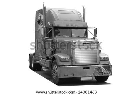 American truck - stock photo