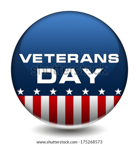 American Veterans Day Badge
