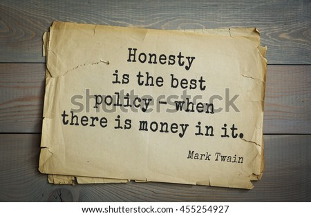 Honesty essays