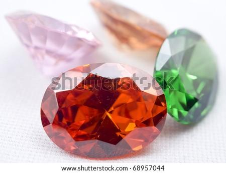Amethyst Jewels - stock photo