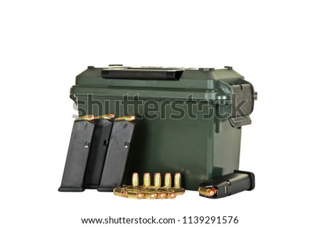 stock-photo-ammo-box-and-four-loaded-hig