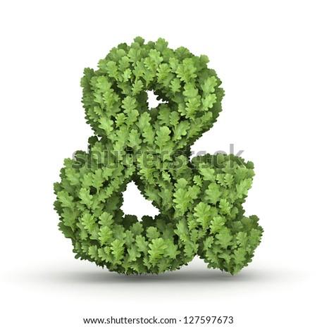 leaf ampersand stock images royaltyfree images amp vectors