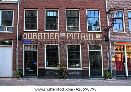 Red light district stock images royalty free images vectors amsterdam netherlands may 5 2016 amsterdams red lights district near oude kerk aloadofball Image collections