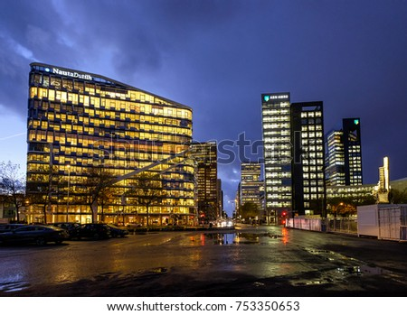 Portfolio on shutterstock for Amsterdam economica