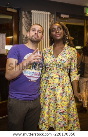 Amsterdam, The Netherlands - august 23 2014: at Rialto, during closing ceremony of World Cinema Amsterdam, world film festival held from 14 to 24/08/2014