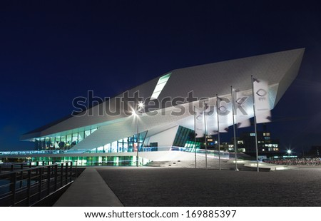 Modern Architecture Netherlands film institute netherlands stock images, royalty-free images