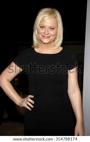 Amy Poehler at the 22nd Annual Producers Guild Awards held at the Beverly Hilton hotel in Beverly Hills, California, United States on January 22, 2010.  - stock photo
