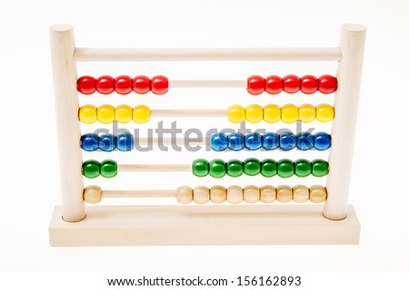 An abacus isolated