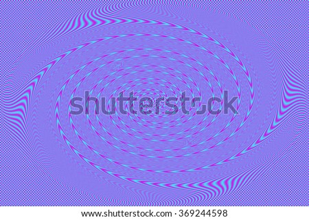 An abstract aqua and purple spiral background image. - stock photo