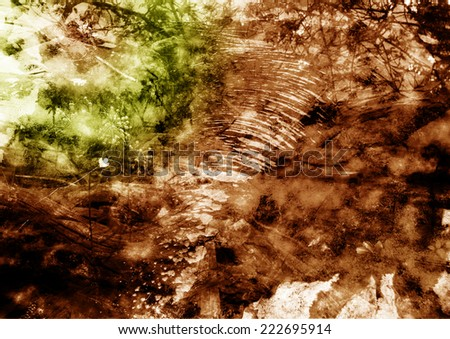 An abstract background photo manipulation. - stock photo