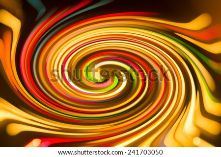 An abstract colorful spiral. - stock photo