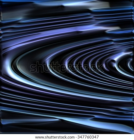 AN abstract illustration of Saturn's rings